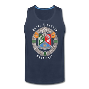1er REC Badge - Foreign Legion - Premium Tank Top - Men's Premium Tank