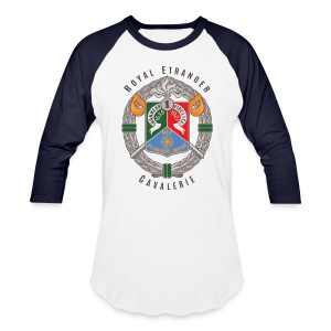 1er REC Badge - Foreign Legion - Baseball T-Shirt - White - Baseball T-Shirt