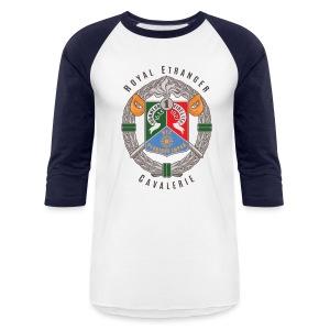 1er REC Badge - Foreign Legion - Baseball T-Shirt - White - Baseball T-Shirt