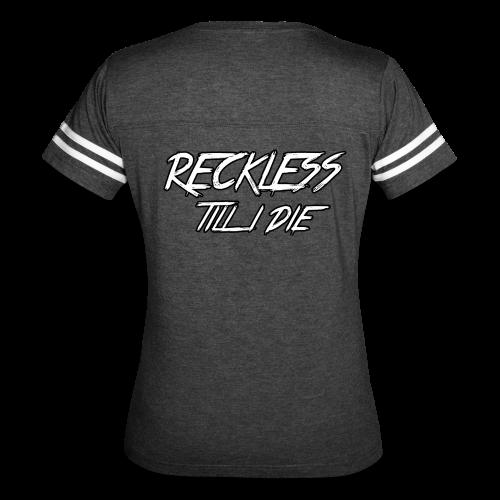 RECKLESS VINTAGE SPORT TSHIRT - Women's Vintage Sport T-Shirt