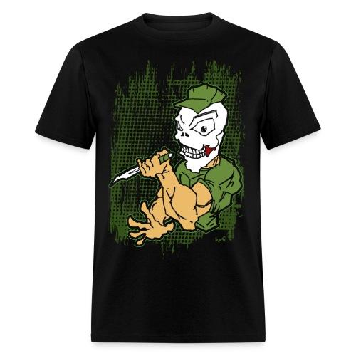 Knife Badass Marine - Men's T-Shirt