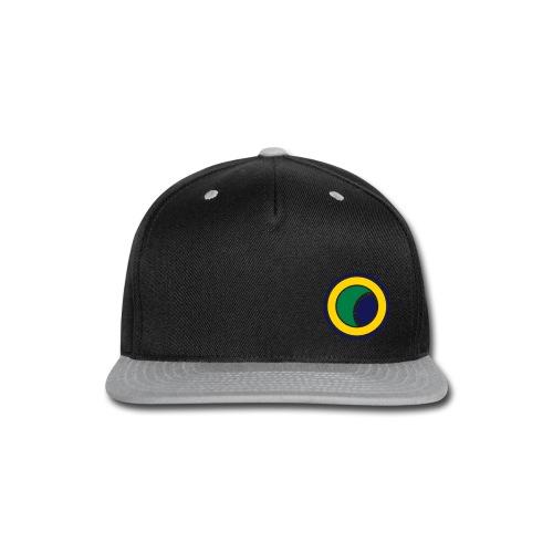 Capoeira Logo Snapback - Snap-back Baseball Cap
