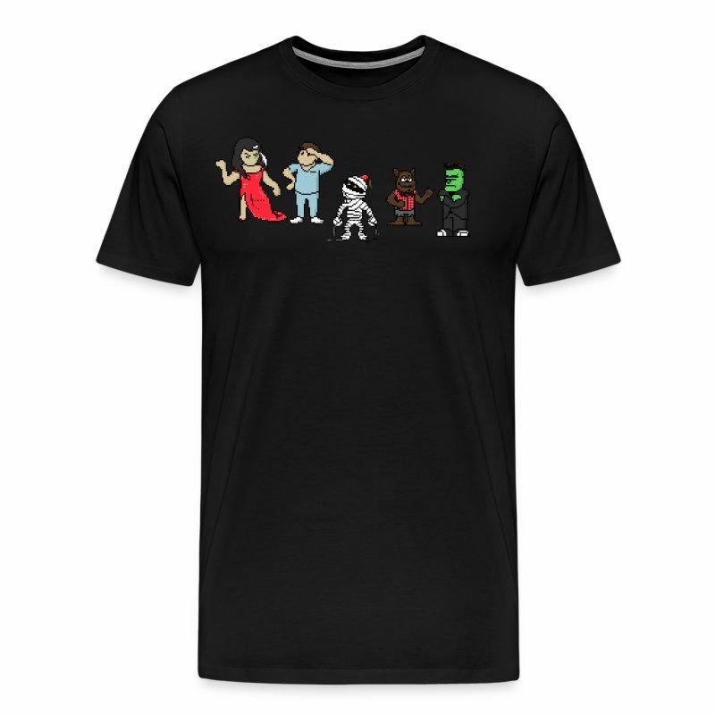 Midnight's Pixel Tee (1) - Men's Premium T-Shirt