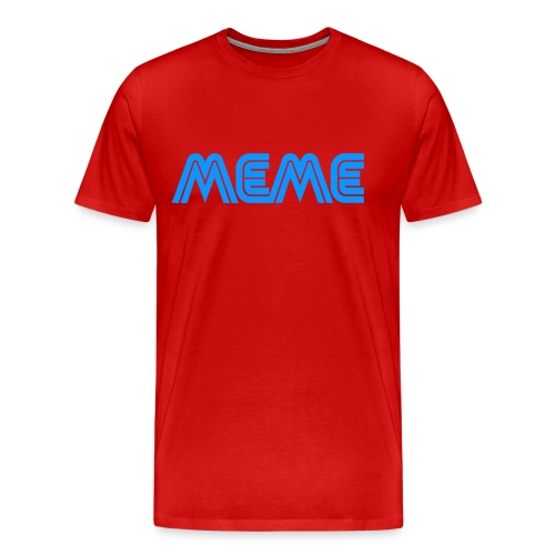 Meme (male cut) - Men's Premium T-Shirt