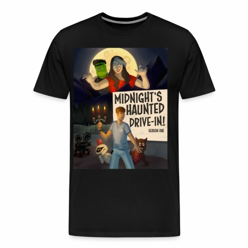 Midnight's Haunted Poster Tee - Men's Premium T-Shirt