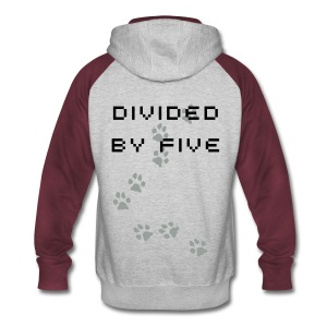 Divided by Five Hoodie - Colorblock Hoodie