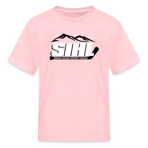 SIHL Youth T-shirt Pink w BW Logo - Kids' T-Shirt
