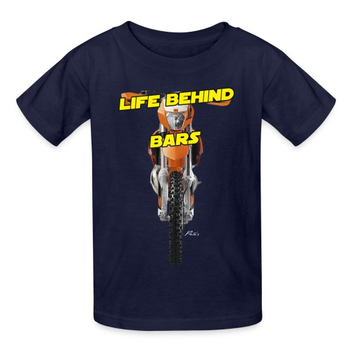 Behind Bars (Y) - Kids' T-Shirt