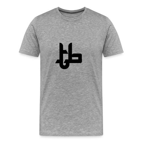 TB Standard Tee Black Logo - Men's Premium T-Shirt