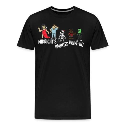 Midnight's Pixel Tee (2) - Men's Premium T-Shirt