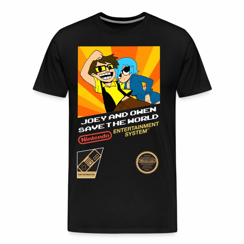 Joey & Owen Save The World! - Men's Premium T-Shirt