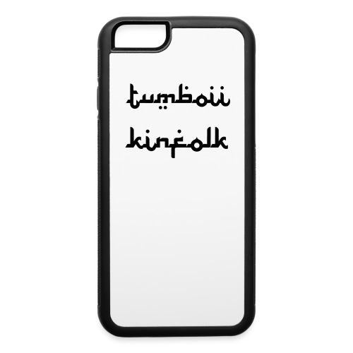 Tumboii x Kinfolk iPhone 6 Case - iPhone 6/6s Rubber Case