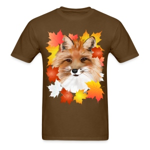 FACE in FALL-Fox eye view - Men's T-Shirt