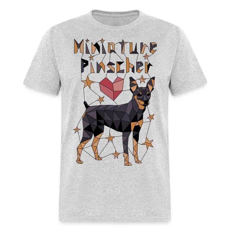 Geometric Miniature Pinscher - Men's T-Shirt