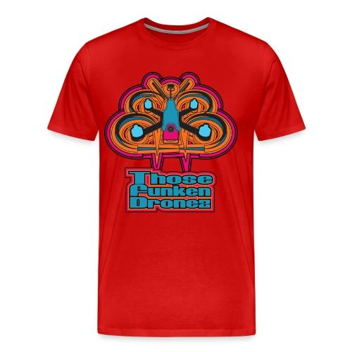 Those Funken Dronez - RED Team APD  - Men's Premium T-Shirt