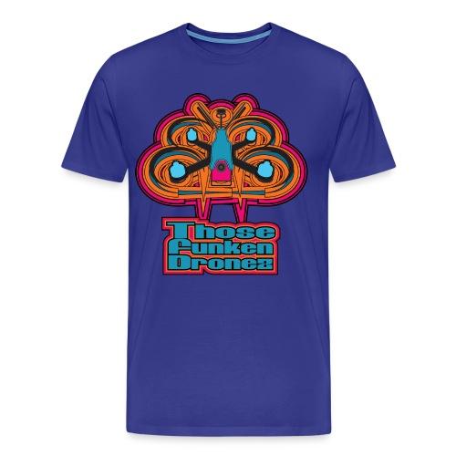 Those Funken Dronez - BLUE Meanies  - Men's Premium T-Shirt