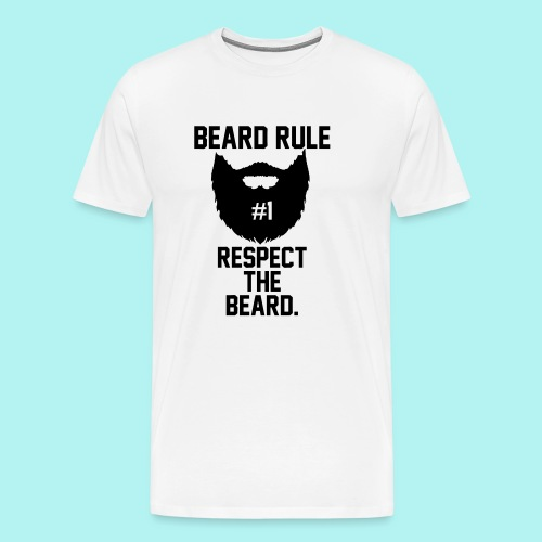 #BeardKing - Men's Premium T-Shirt
