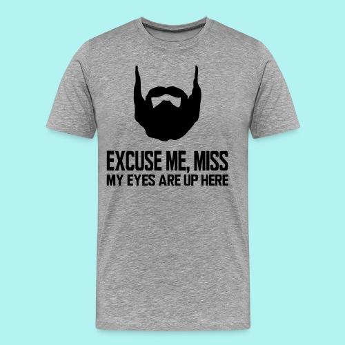 #BeardKing - Men's Premium T-Shirt