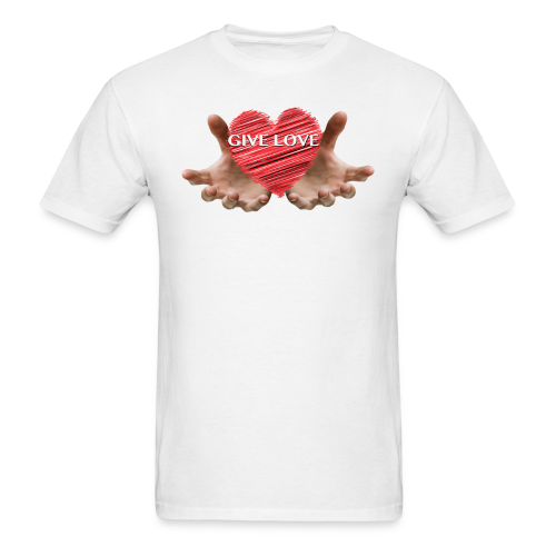 GIVE LOVE Mens T-Shirt - Men's T-Shirt