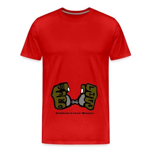 ALM Drug Life - Men's Premium T-Shirt