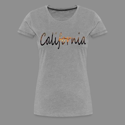 California Womens Tee - Women's Premium T-Shirt