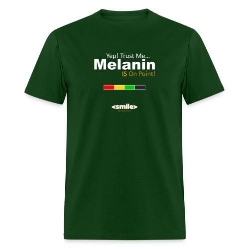 Melanin On Point - Green T-Shirt (Men) - Men's T-Shirt