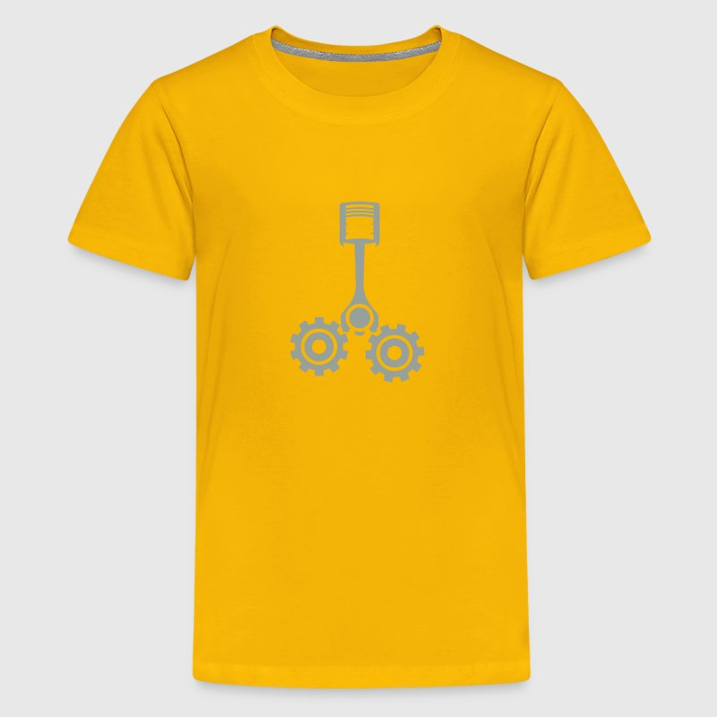 mechanical piston drive gear 1 Kids' Shirts - Kids' Premium T-Shirt