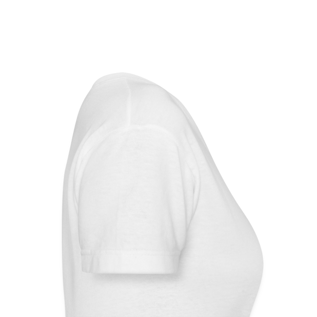 Off Duty Mom V-Neck Tee (White/Black)