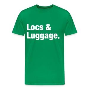 Locs & Luggage - Men's Premium T-Shirt