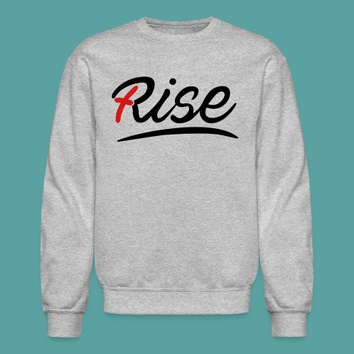 Rise Red Crewneck - Crewneck Sweatshirt