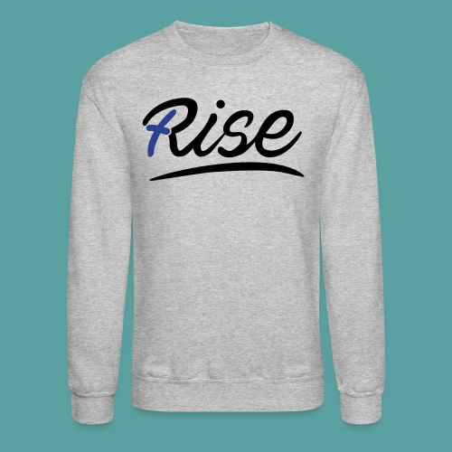 Rise Blue Crewneck - Crewneck Sweatshirt