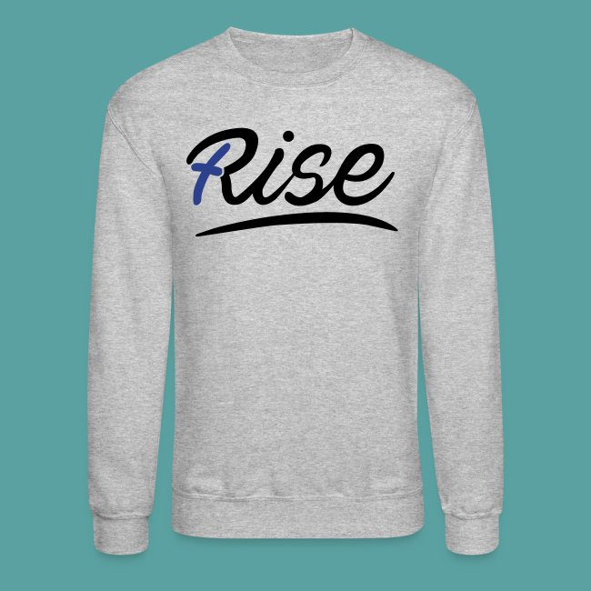 Rise Blue Crewneck
