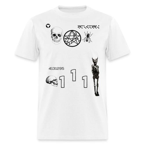 Kinda D a r c c Shirt (White) - Men's T-Shirt