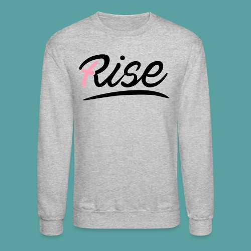 Rise Pink Crewneck - Crewneck Sweatshirt