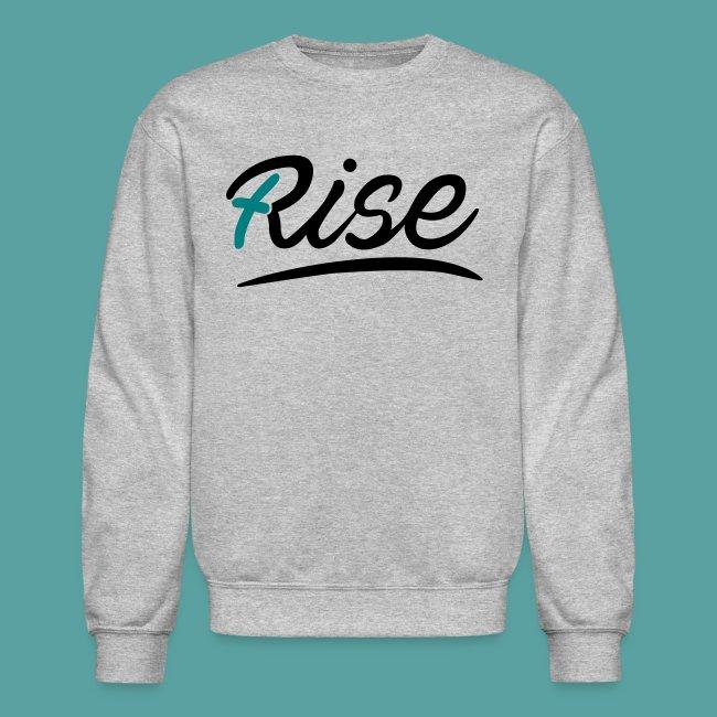 Rise Teal Crewneck