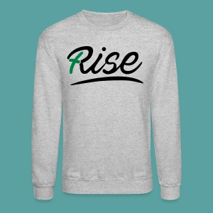 Rise Green Crewneck - Crewneck Sweatshirt