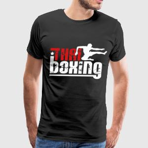 thai boxing T-Shirts - Men's Premium T-Shirt