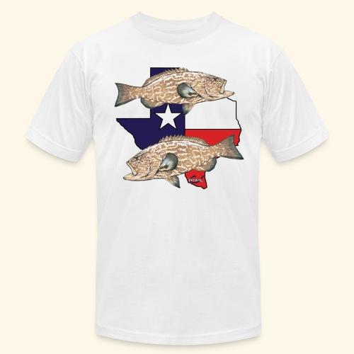 Hookat Texas Grouper 2 - Men's  Jersey T-Shirt