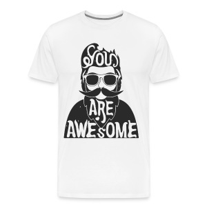 You are awesome - Men's Premium T-Shirt