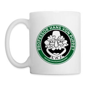 Professor Puppet Mug - WHITE - Coffee/Tea Mug