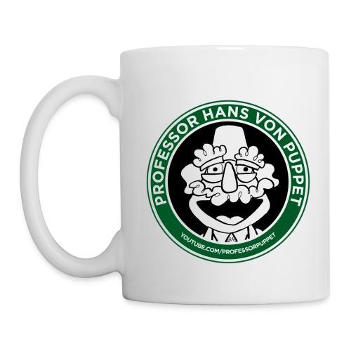 Professor Puppet Mug - WHITE - Coffee/Tea Mug