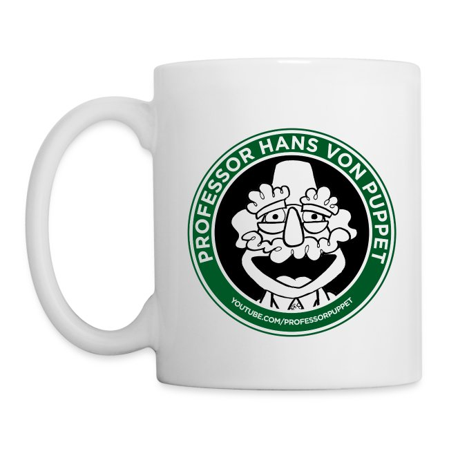 Professor Puppet Mug - WHITE