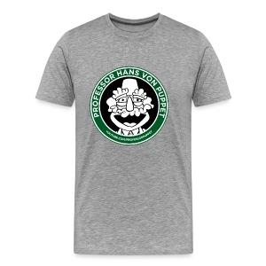 100% Cotton Professor Puppet Coffee Shirt - Men's Premium T-Shirt