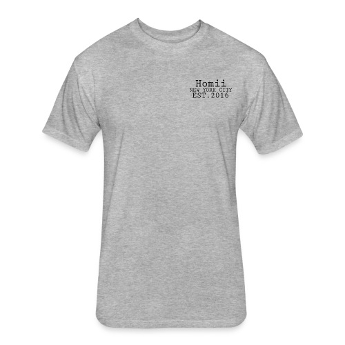 Men's Homii NYC Light T-Shirt - Fitted Cotton/Poly T-Shirt by Next Level