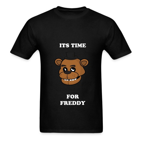 It's TIme For Freddy - Men's T-Shirt