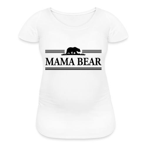 MAMA BEAR MATERNITY TEE - Women's Maternity T-Shirt