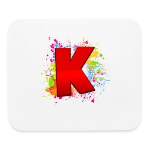 Kryptix K Splatter Mouse Pad - Mouse pad Horizontal