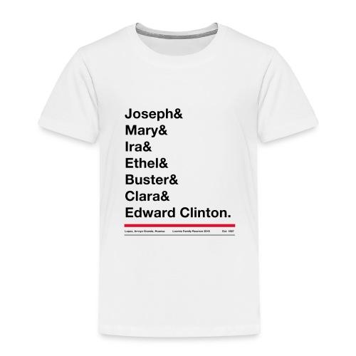 Kids first name tee shirt - Premium spreadshirt tee - Toddler Premium T-Shirt