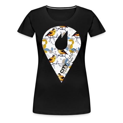 City Chapel Icon WOMEN LEAVES - Women's Premium T-Shirt
