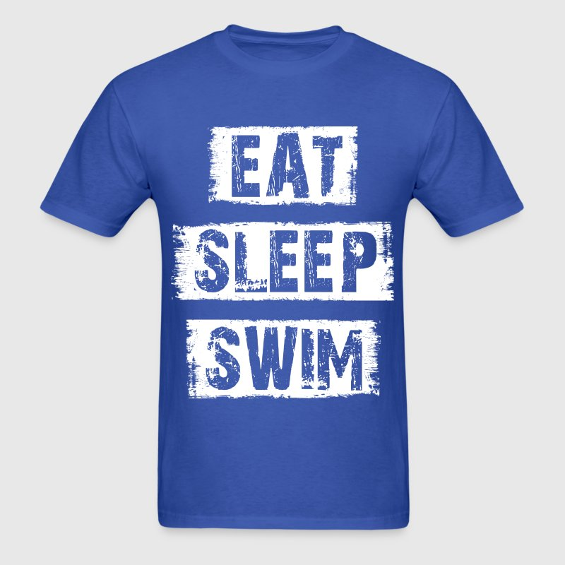 Eat Sleep Swim T-Shirts - Men's T-Shirt